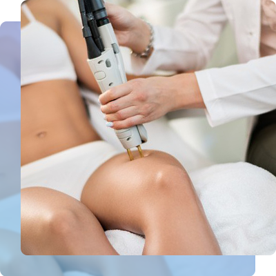 Procedure on laser hair removal